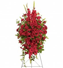 Funeral Flowers: Deep in Our Heart Spray