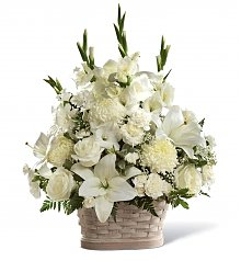 Funeral Flowers: Peaceful Passage
