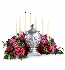 Funeral Flowers: Peaceful Thoughts Arrangement
